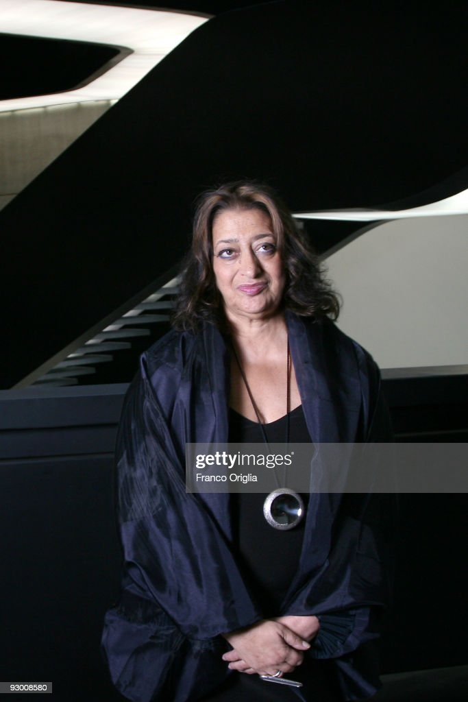 architect zaha hadid poses during the architectural preview of the maxxi museum designed by herself on - The Most Famous Architect