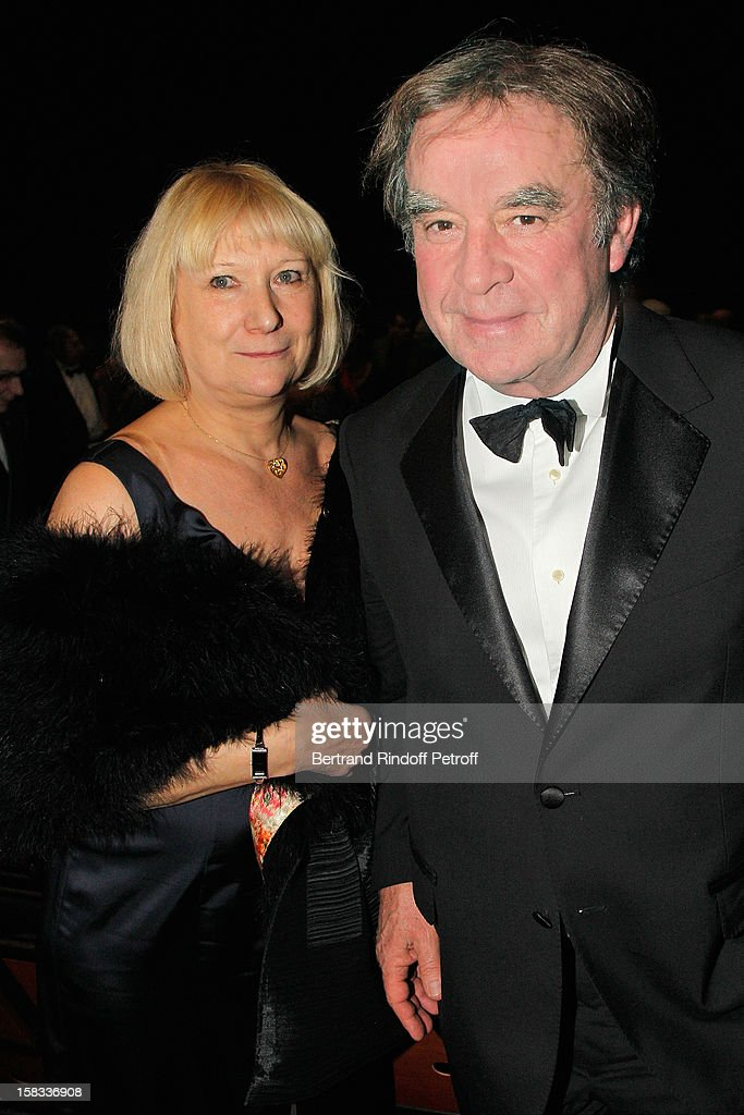 Architect/designer Jean-Michel Wilmotte (R) and his wife Nicole attend the Arop Gala Event for Carmen New Production Launch at Opera Bastille on December 13, 2012 in Paris, France.