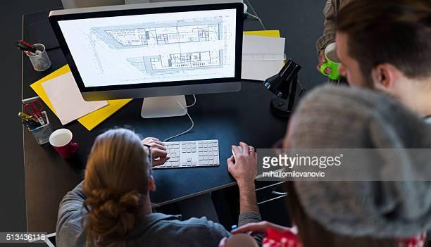 Architectes au travail