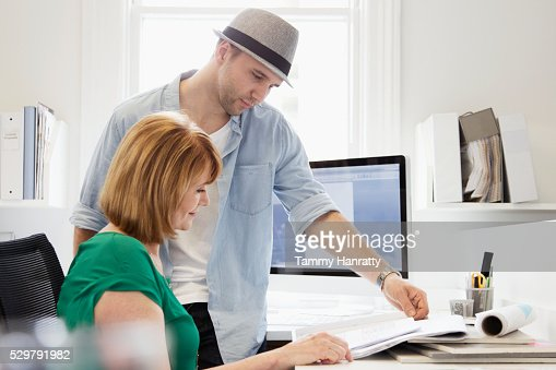 Architects at work : Foto stock