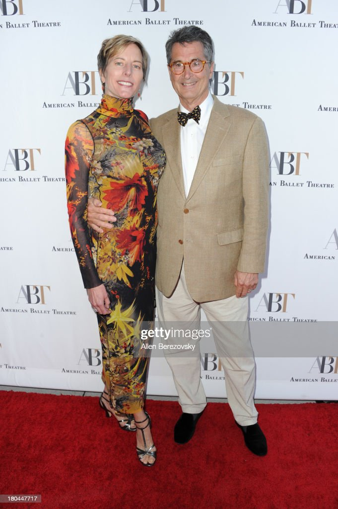 Architects Mary M. Wilson and Jefferson B. Riley attend American Ballet Theatre's annual 'Stars Under The Stars: An Evening In Los Angeles' event on September 12, 2013 in Hollywood, California.