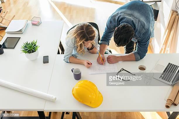 Architectes espace de travail