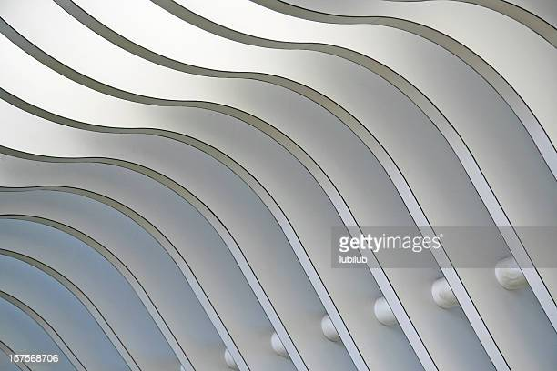 Architectural abstract 1 - Interior of a modern building