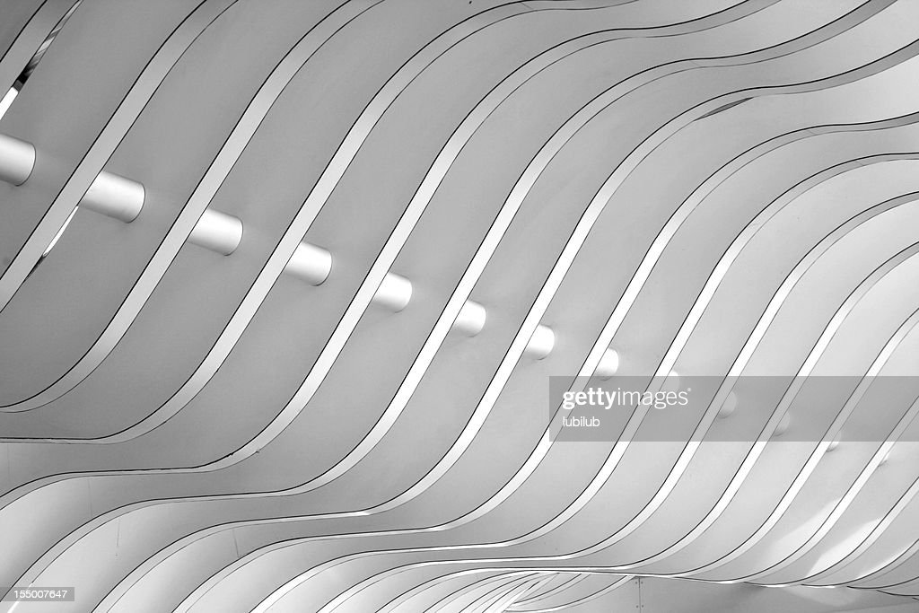 Architectural abstract - Interior of a modern building
