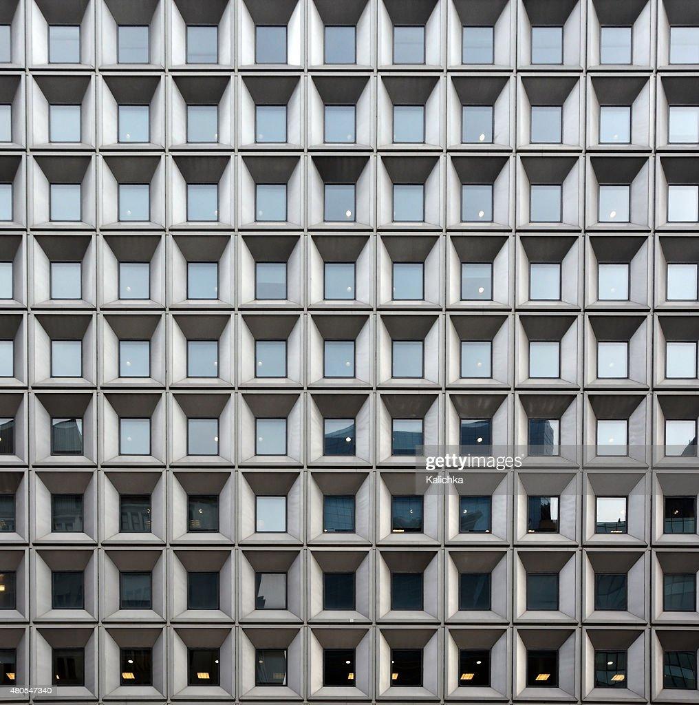 Architektonischen Hintergrund mit Fenstern. New York Wolkenkratzer, USA : Stock-Foto