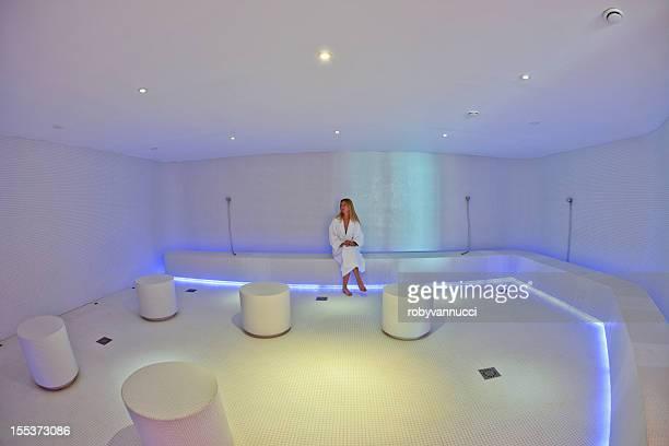 Architectural design of hammam in a spa center
