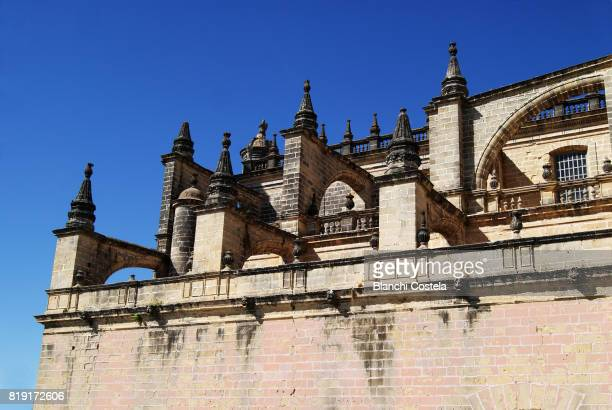 Architectural detail in the Cathedral of Jerez
