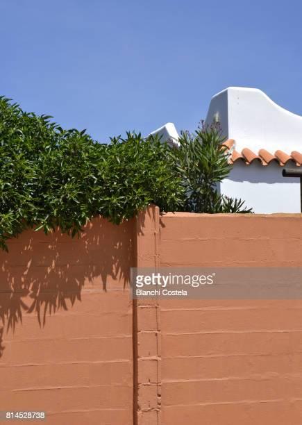 Architectural detail in Zahora in Cadiz