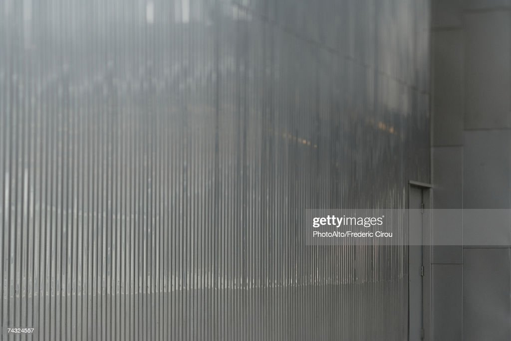 Architectural detail, metal wall