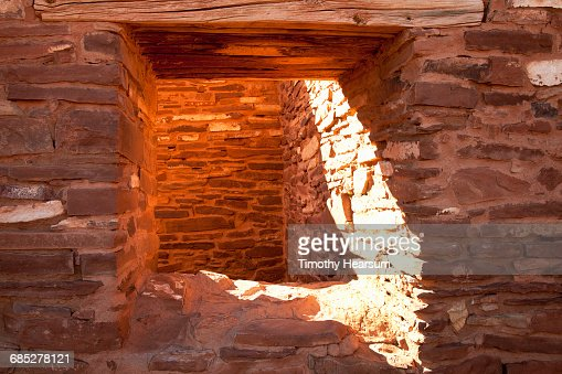 Architectural detail of Abo Ruins : Stock Photo