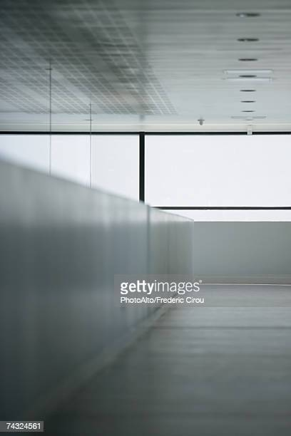 Architectural detail of office building interior