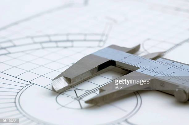 Architectural Drawing & Caliper