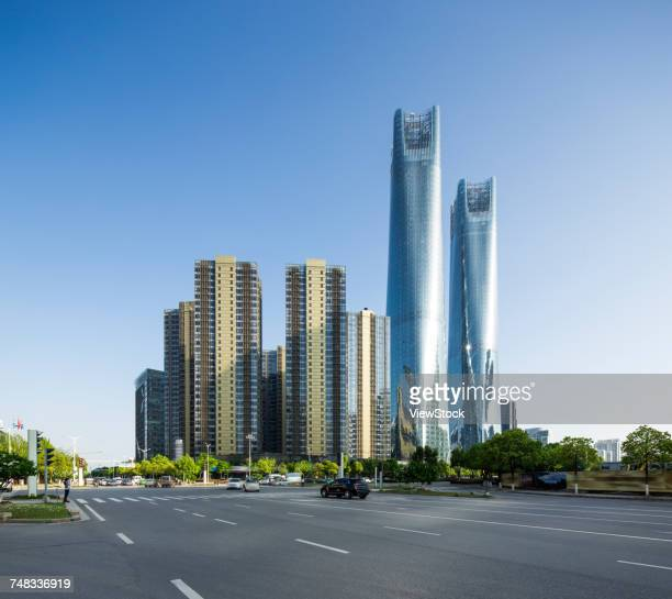 Architectural landscape of Nanchang City,Jiangxi Province,China