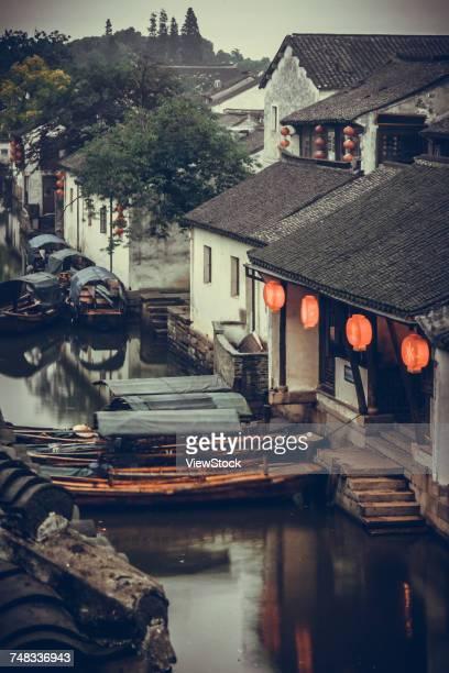 Architectural landscape of Wuzhen in Jiaxing City,Zhejiang Province,China
