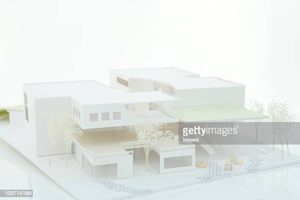 Architectural model, close up