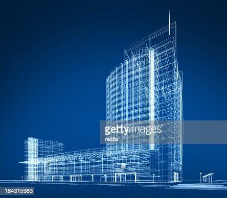 3 D abstrakt Architektur
