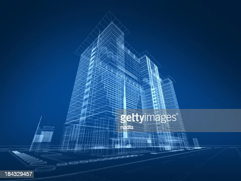 3d architecture abstract stock photo   getty images