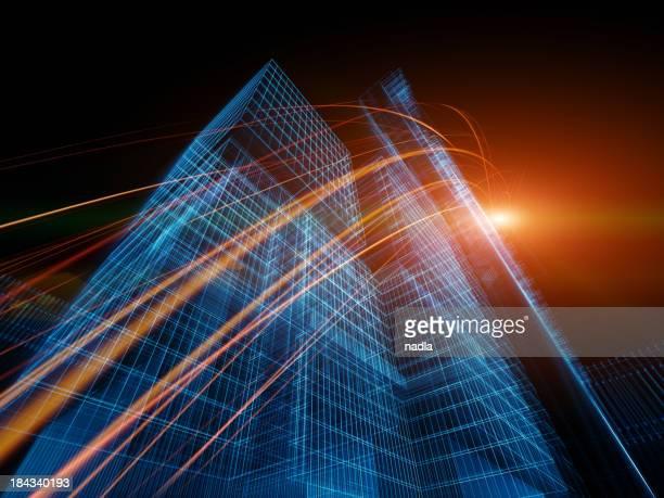 抽象的な 3 D のアーキテクチャ