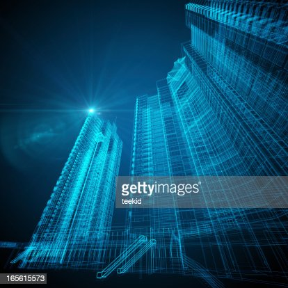 Architecture Blueprint Stock Photo Getty Images
