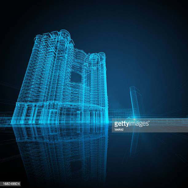 Architektur Blueprint
