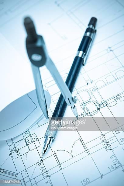 Architecture & outils de dessin plan