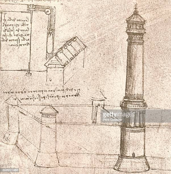 Architecture for castles c1472c1519 From The Literary Works of Leonardo Da Vinci Vol II by Jean Paul Richter PH DR [Sampson Low Marston Searle...