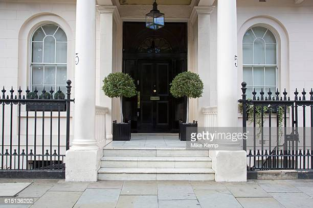 Architecture in Belgravia London United Kingdom Belgravia is a district in West London in the City of Westminster and the Royal Borough of Kensington...
