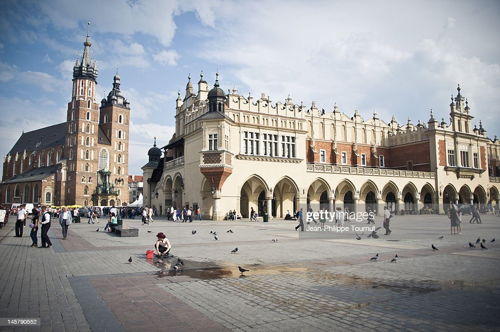 Architecture in Krakow, Poland
