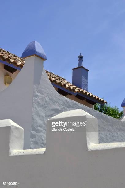Architecture in  Zahora in Cadiz in spring