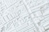 Architecture Model Urban cityscape concept design Zoning district