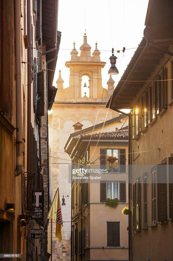 Architecture of Bergamo, Lombardy, Italy