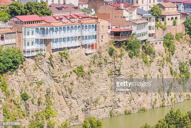 Architecture of Tbilisi, Georgia. Tbilisi is the capital and the largest city of Geogia
