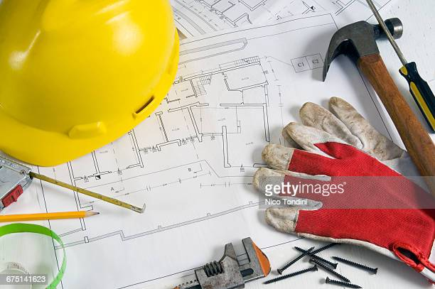 Architecture plan and work tools