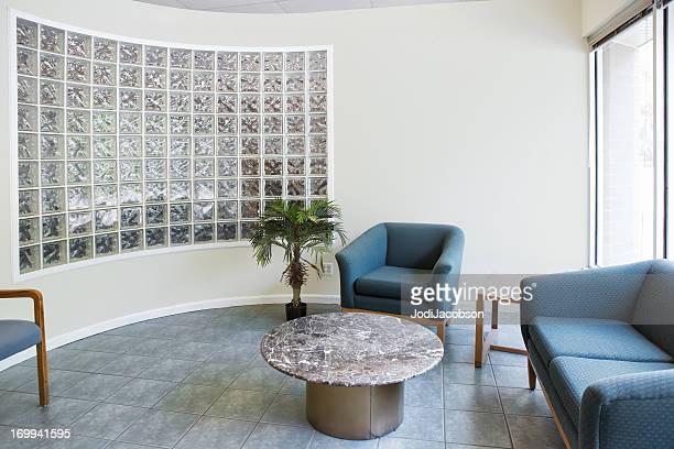 Architecture: Reception area