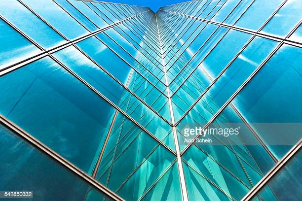 Architecture, reflections, glass buildings