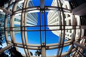 Architecture Downtown District in Miami, USA.