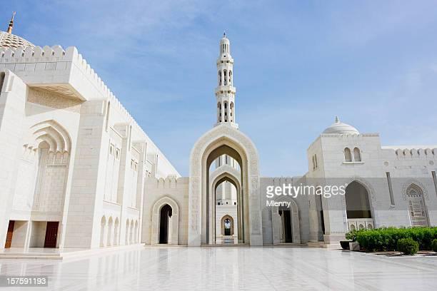Architecture Sultan Qaboos Grand Mosque