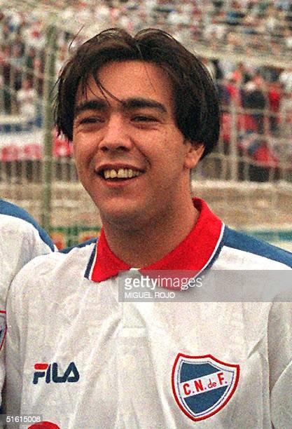 Archive photo of Uruguayan Alvaro Recoba soccer player of the Inter de Milan AFP PHOTO/Miguel ROJO