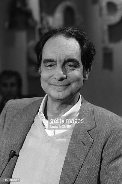 Archivements Italo Calvino in Paris France in 1970