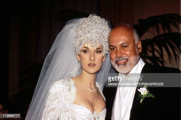 Archives Celine Dion In Montreal Canada In May 1996December 1994 during her wedding with Rene Angelil