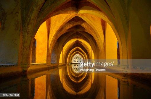 Archs over water : Foto de stock