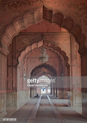 Archway and corridor : Stock Photo