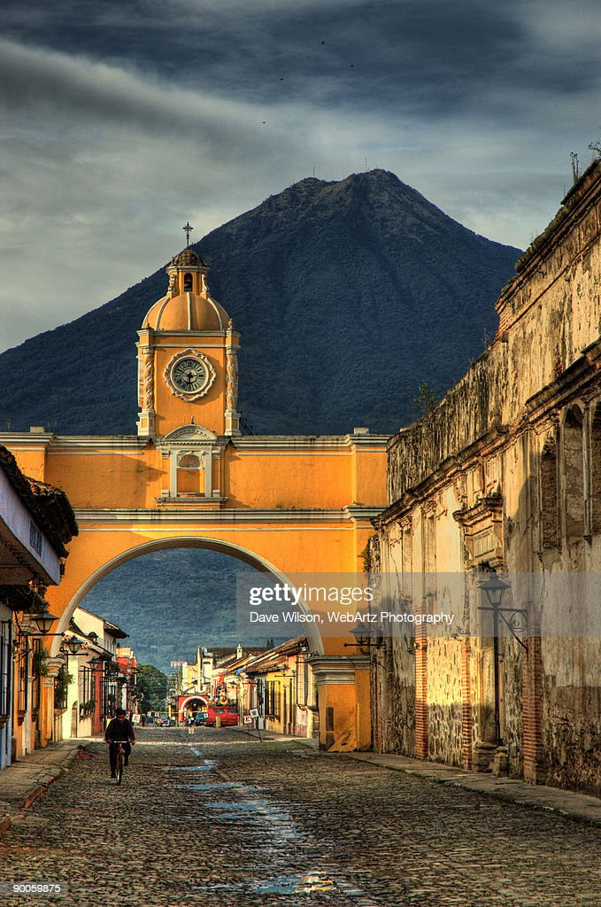 Archway and Volcano