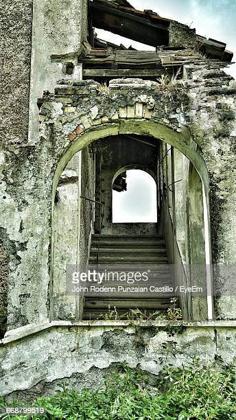 Archway In Abandoned Building