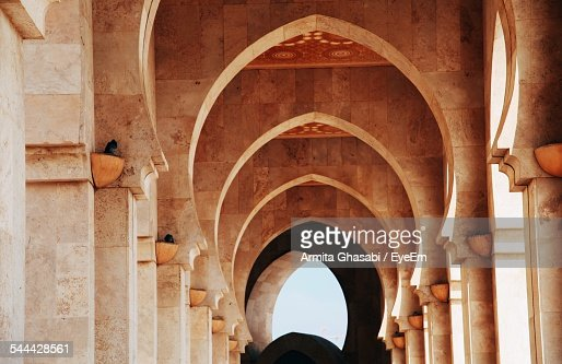 Archway In Hassan Ii Mosque