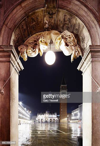Archway in Piazza San Marco, Venice