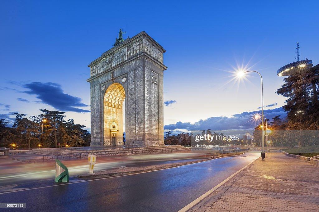 Arco Del Triunfo De Madrid Stock Photo Getty Images