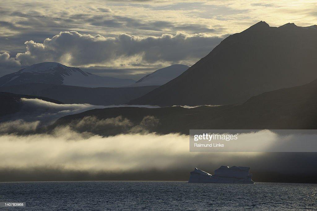 Arctic Fjord Landscape : Stock Photo