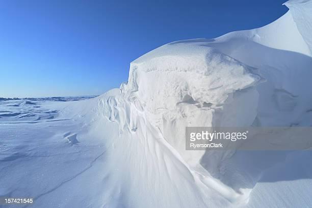 Arctic Ice auf Baffin Island, Nunavut.