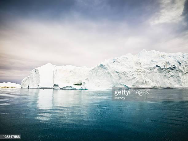 Arctic Icebergs Greenland Ice Fjord